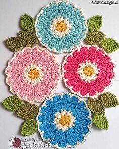 Crochet Filet - Page 116 of 182 - Patterns, Designs and Schemes Crochet Mandala Pattern, Crochet Flower Patterns, Doily Patterns, Crochet Designs, Crochet Flowers, Embroidery Patterns, Crochet Kitchen, Crochet Home, Crochet Dollies