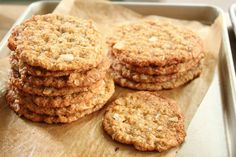 Healthy Oatmeal, coconut and almond cookies