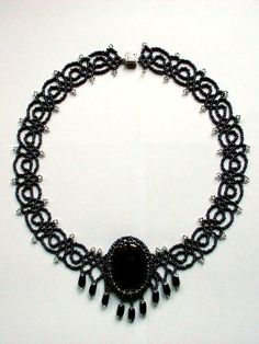 Free Necklace Pattern - Netting Stitch