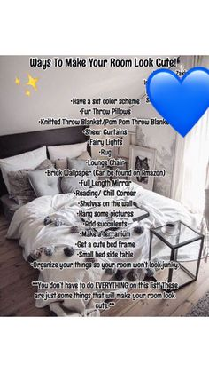 23 Clever DIY Christmas Decoration Ideas By Crafty Panda Cute Room Ideas, Cute Room Decor, Teen Room Decor, Room Decor Bedroom, Bedroom Ideas, Bedroom Hacks, Bedroom Makeovers, Cozy Bedroom, Bedroom Inspo