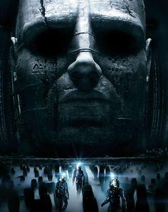 Prometheus est un film de science-fiction américano-britannique produit et réalisé par Ridley Scott, sorti en 2012. Il met en scène, dans les rôles principaux, Noomi Rapace (Elizabeth Shaw), Michael Fassbender (David) et Charlize Theron (Meredith Vickers). L'action se déroule à la fin du xxie siècle : l'équipage du vaisseau Prometheus, appartenant à la société Weyland, du nom du milliardaire qui l'a créé, part sous les ordres de ce dernier explorer le satellite naturel d'une planète…