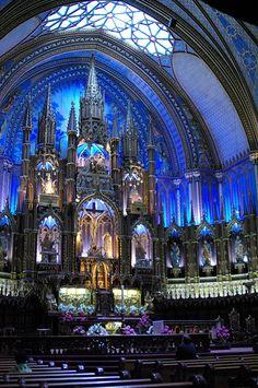 モントリオール ノートルダム大聖堂