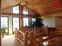 Holzhaus, Rundstammhaus, Blockhaus, Naturstammhaus Massivholzhaus   Das  Holzhaus Oliver Schattat GmbH