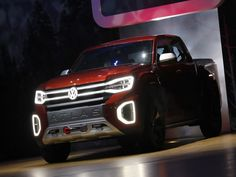 Volkswagen unveils concept pickup truck at New York auto show