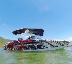 Wakeboarding, Lake Boats, Wakeboard Boats, Boat Wraps, Elements Of Art, Lake Life, Fishing Boats, Campers, A Team