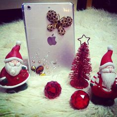 iPad mini NIna's icreations Santa Claus is coming to town
