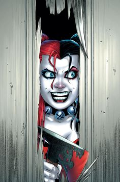 Harley Quinn #21 cover by Amanda Conner