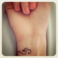 Om tattoo. Want.