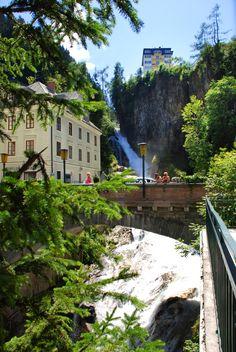 Bad Gasteiner Wasserfall, Austria