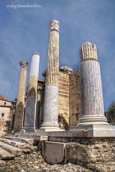 Ancient agora - Old and New / by Vicky Tsavdaridou, via Flickr