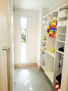 Mudroom, Entrance, Entryway, Interior Design, Closet, House, Furniture, Home Decor, Houses