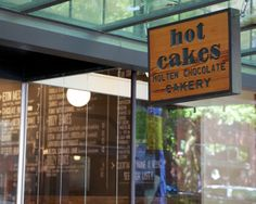 Hot Cakes - Molten Chocolate Cakery, Seattle, Washington Things To Do Seattle, Hello Seattle, Molten Cake, Seattle Food, Molten Chocolate, Bakery Cakes, Seattle Washington, Coffee Shops, Bakeries