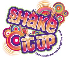VBS 2015 Option by Yellow Fence: Shake it Up...where kids discover how God ROCKS our world!