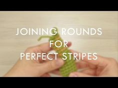 Joining rounds for perfect stripes (right-handed) | Kristi Tullus - YouTube