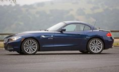 1, 2, 3, 4 & 5. The BMW Z4; it looks especially good in blue