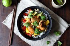 Rask teriyakikylling med mango- og avokadosalat Mango, Kung Pao Chicken, Recipies, Ethnic Recipes, Blog, Drinks, Food Food, Manga, Recipes