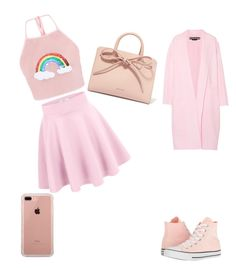 """Cool outfit"" by csehana on Polyvore featuring Rochas, Converse, Mansur Gavriel and Belkin"