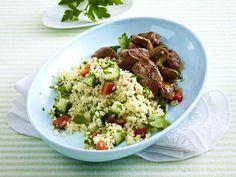 Couscous-Rezepte - köstlich und vielseitig - couscous-petersilien-salat  Rezept