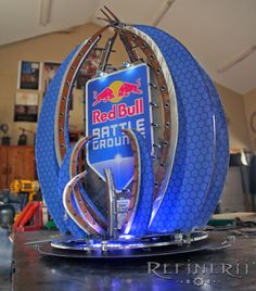 Industrial Revelations: StarCraft Trophy for Red Bull E-Sports