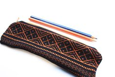 Pencil Case Zipper Pouch Small Cosmetic Bag sewed by byheartmade