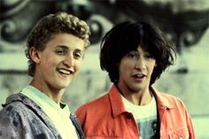 Bill and Ted: San Dimas Football Rules.. Seriously.. if you don't love them you are totally heinous.... dude.