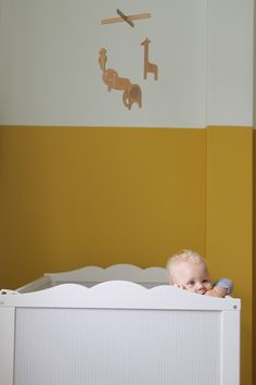 Oh, I like the idea of painting the top half of the room white. Also, definitely doing white furniture. White Furniture, Kids Furniture, Lisbon Apartment, Half Painted Walls, Best Crib, Kids Room Design, White Rooms, Amazing Ideas, Kids Rooms