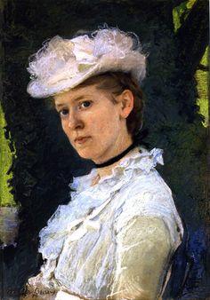 The Athenaeum - Maud DePuy Darwin (Cecilia Beaux - )
