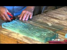 ▶ Mike Tonder, Blue Skies Glassworks - YouTube Excellent artist