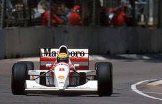 Austrália/93 35° vitória pela McLaren