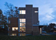 moderne Huizen door Linebox Studio