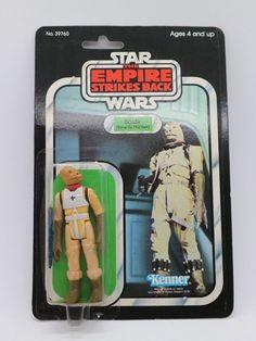 Star Wars Vintage Kenner Bossk (Bounty Hunter) MOC 32-BACK ESB 1980 #Kenner