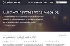 Business Identity WordPress Theme by Professional Themes on Creative Market