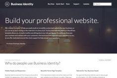 Business Identity WordPress Theme by Professional Themes on Creative Market