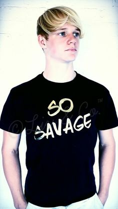Hey, I found this really awesome Etsy listing at https://www.etsy.com/listing/232348122/so-savage-mens-tank-top-and-t-shirt