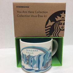 Starbucks Niagara Falls Coffee Mug 14 oz You are Here Collection New in Box #Starbucks