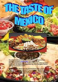 the-taste-of-mexico by Angel Vicky via Slideshare