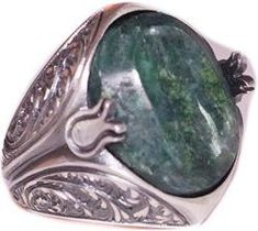 Mens Emerald Ring brings good luck and enhances well being of the wearer. Emerald is the stone of successful love and grants loyalty to its wearers. Mens Emerald Rings, Emerald Gemstone, Gemstone Rings, May Birthstone Rings, Tungsten Wedding Bands, Topaz Ring, Silver Man, Natural Gemstones, Sterling Silver Rings