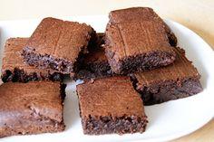 Stukje bij Beetje: Banaan-courgette Brownies