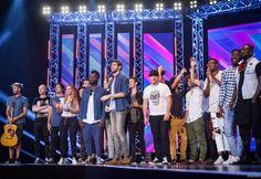 X Factor 2016 Bootcamp Alvaro Soler. I Gruppi che passano agli Home Visit: Soul System, Les Enfants, Iiso, Jarvis, Daiana Lou e Oak.
