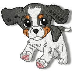 Cute Baby Cavalier
