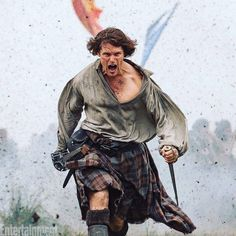 """Imagine the scene… Prince Charles Edward Stuart is being all BPC, waffling on about who knows what – maybe even thinking """"he"""" can win. While Jamie knows they cannot.  Jamie is in a totally different """"headspace"""", preparing to die. He has a promise to fulfill.  Here is a comment Diana Gabaldon has made about a scene preceding the battle."""