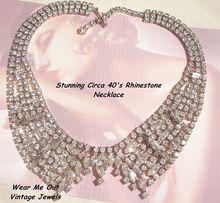 stunning wide collar rhinestone necklace  http://www.rubylane.com/item/525363-1507/Sensational-Wide-Collar-Rhinestone-Necklace