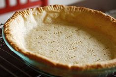 No Fail, Gluten-Free Pie Crust