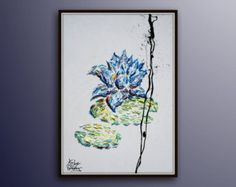 Tree 60 Original oil painting on canvas Luxury by KobyFeldmos