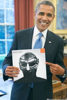 Obama knows what's up! #madvillain
