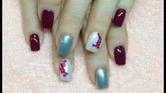 Rhinestone Nail Art and Polish Application Here is a quick and easy nail art idea to give a client when they need something to lift them up during the boring days of Feb!