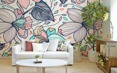 latest wall painting ideas for home to try 26 ~ mantulgan. Diy Wall Painting, Mural Painting, Mural Wall Art, Diy Wall Art, Bedroom Murals, Room Decor Bedroom, Modern Apartment Decor, Wall Drawing, Metal Wall Decor