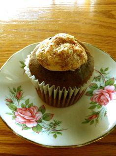 vegan chocolate caramel cupcakes! #cupcake #vegan #recipe