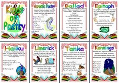 different types of poetry display ks 2 literacy English Teaching Resources, Primary Teaching, Teaching Activities, Primary School, Persuasive Writing, Writing Rubrics, Paragraph Writing, Opinion Writing, Rainforest Poems