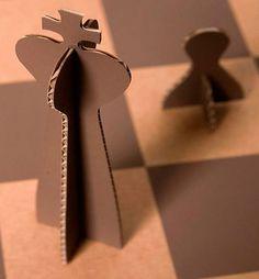 Designer italiano cria tabuleiro de xadrez sustentável